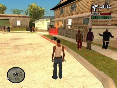 Gangues do GTA San Andreas