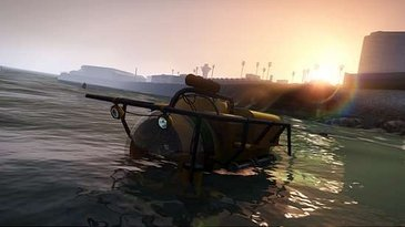 Imagem do Submarino do GTA V