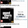 Pré venda de GTA V